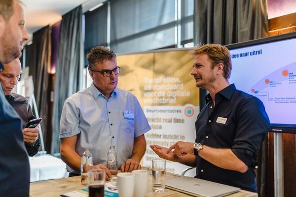 ITT-event bezoeken stands partners