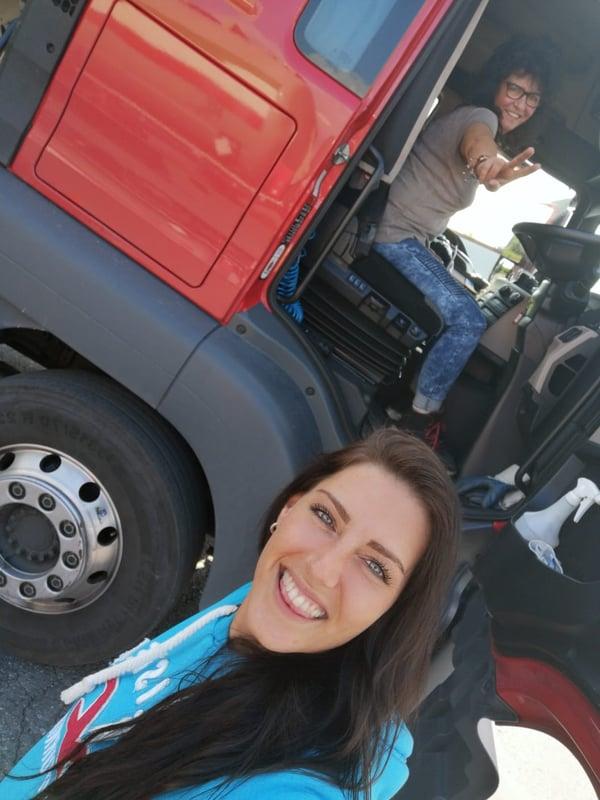 Trucker Babe Melina
