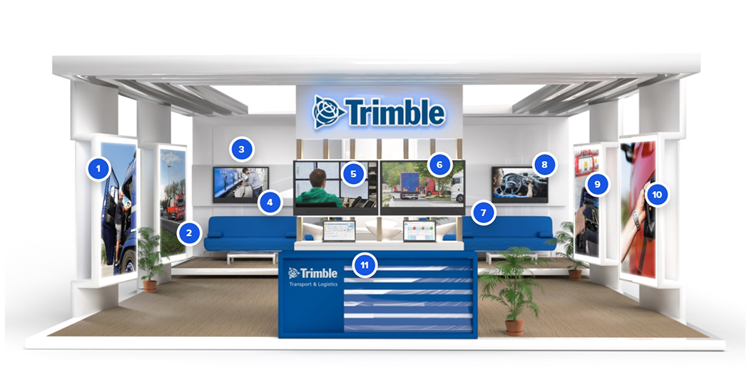 Trimble Transport Live: Trimble führt virtuelle Messe für Transport und Logistik durch