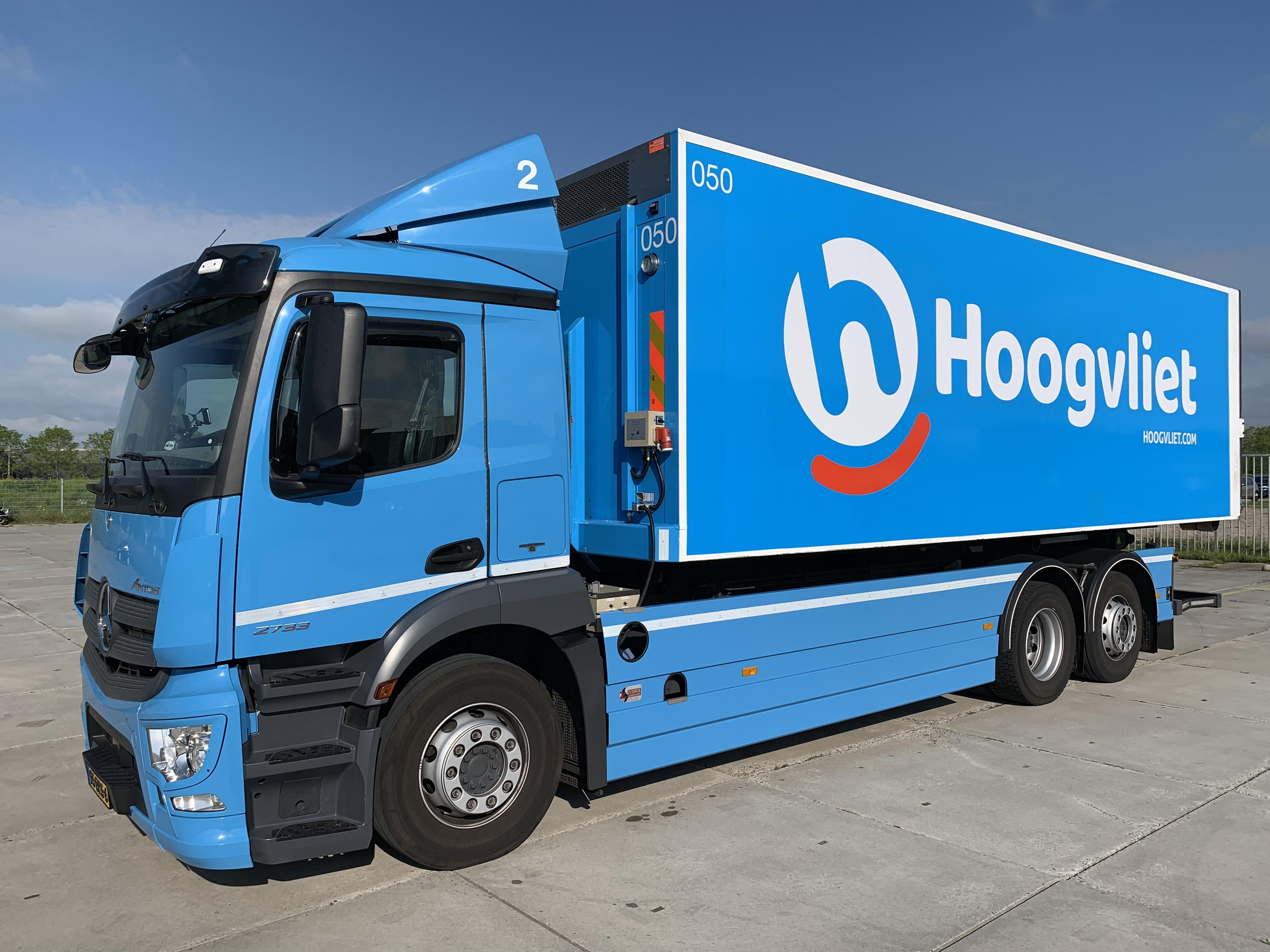Hoogvliet zet met Trimble's fleet management oplossingen flinke stappen in digitalisering van transport