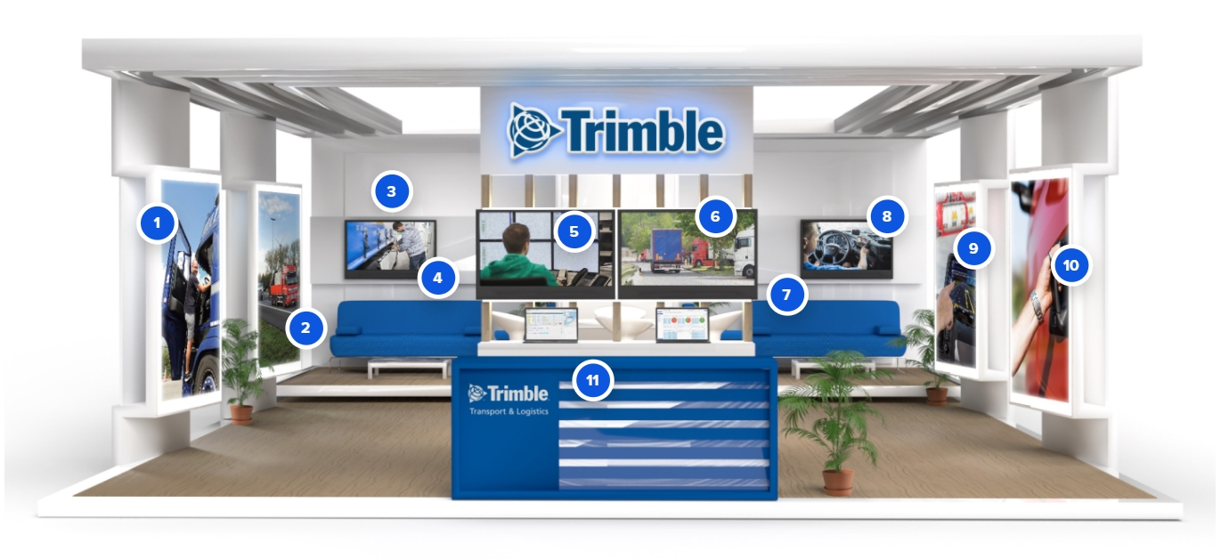 Trimble Transport Live 2020 - Booth