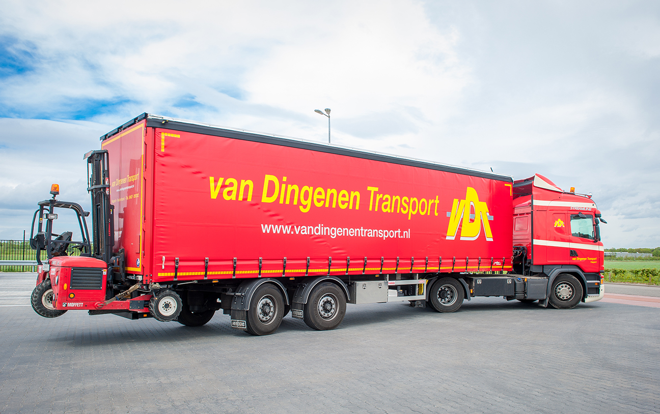 Van Dingenen Leverages Trimble's Portfolio of Fleet Management Solutions